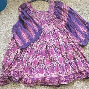 ☮️ Original vintage Indian tunic ☮️